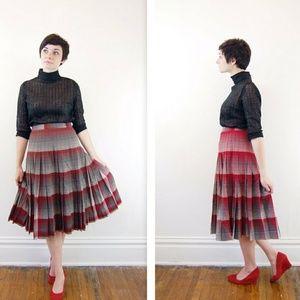 Pendleton Reversible Pleated Skirt